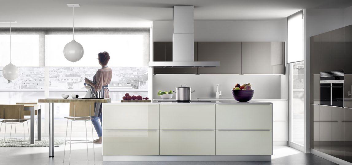 Aquarela Cocina Minimalista Cocinas Muebles De Cocina