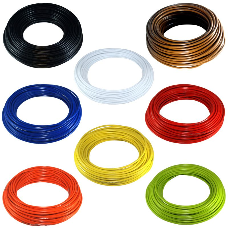 TEFLON BRAKE BIKE OUTER CASING CABLE HOUSING COLORS 5mm MTB ROAD VINTAGE PTFE