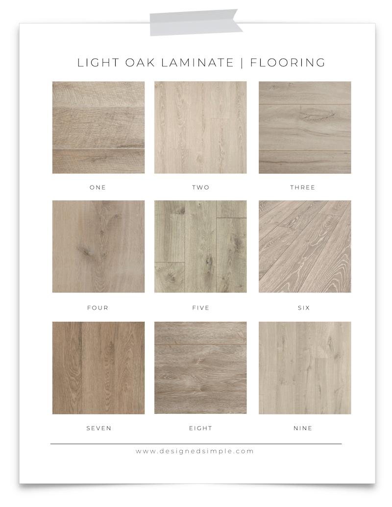 Light Oak Laminate Flooring Favorites Sharing My Top 9 Choices For Light Colored Laminate Flooring Designed Si Oak Laminate Flooring Oak Laminate Flooring