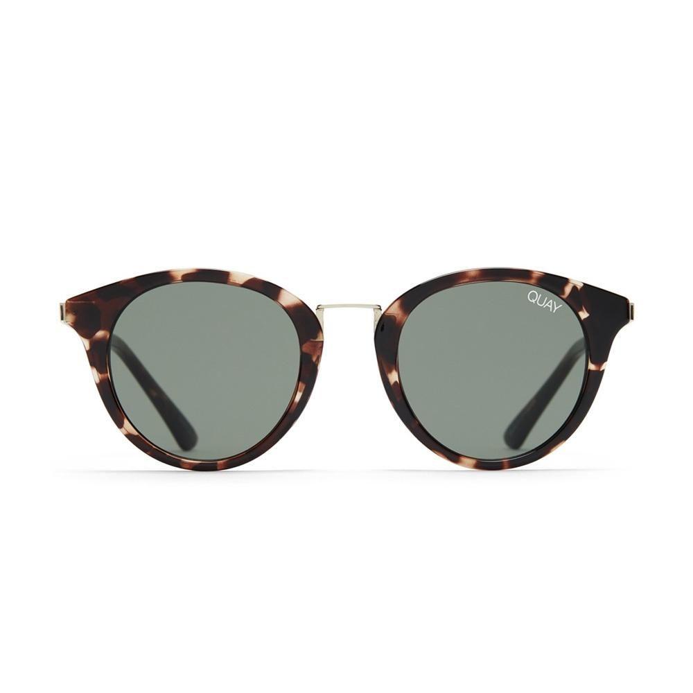 9f9178b6a1f4 Quay Australia x Tony Bianco   Gotta Run Sunglasses in Tortoise/Green Lens  – 123home