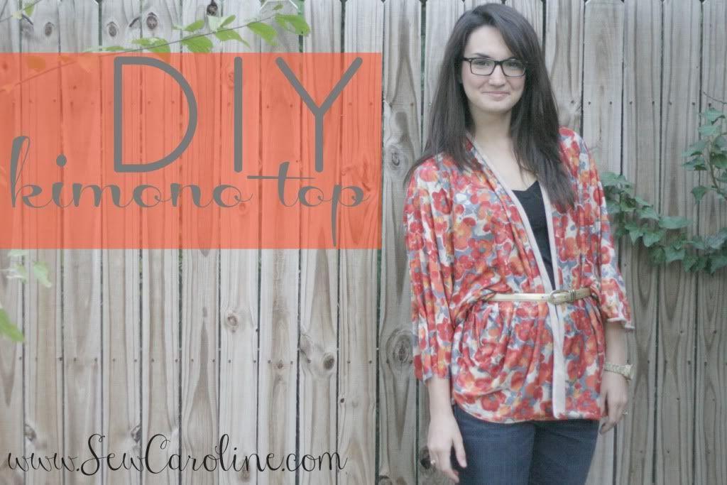 sew a kimono style top sewing patterns tutorials schnittmuster anleitungen und schnittchen. Black Bedroom Furniture Sets. Home Design Ideas