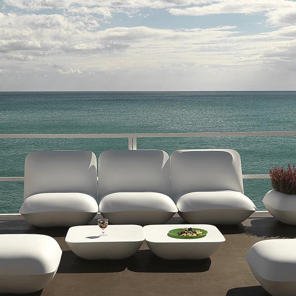 Salon De Jardin Pillow (2 tables basses + 5 fauteuils) | Salons ...