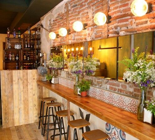 Restaurante Palosanto. Madrid.