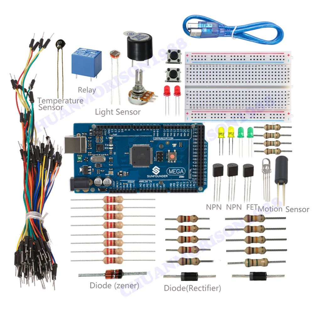 New sunfounder mega project universal starter kit for