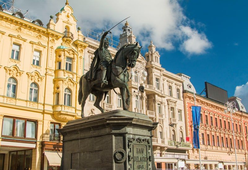 Visit Ban Jelacic Square Center Of Zagreb Downtown