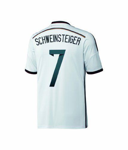 0708efd27 Top Adidas SCHWEINSTEIGER  7 Germany Home Jersey World Cup 2014 (L ...
