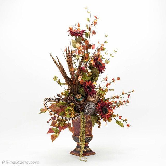 Autumn silk flower arrangement finishing touches for our addition autumn silk flower arrangement mightylinksfo Gallery