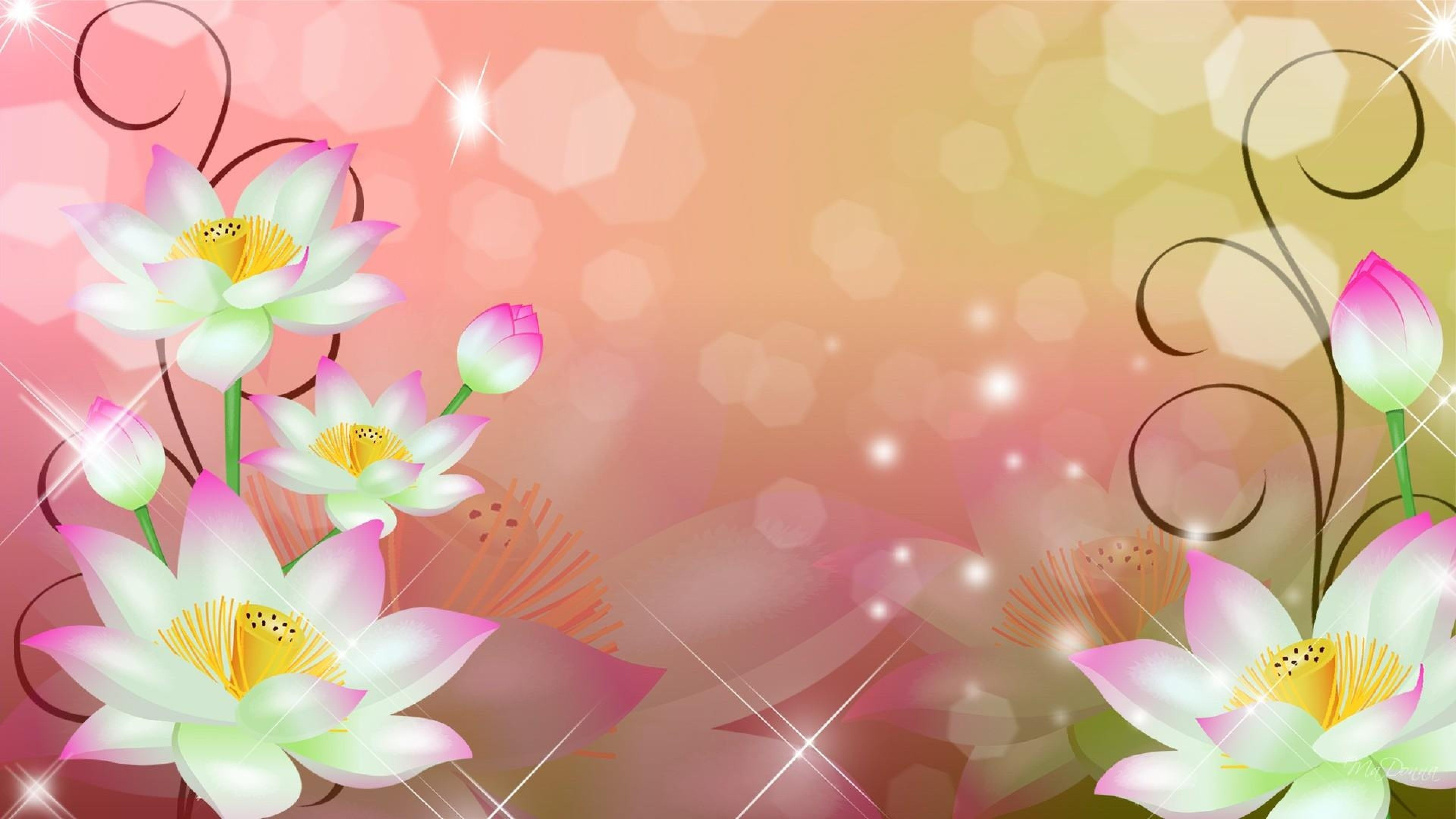 The Lotus Flower Art 4k Ultra Hd Wallpaper Ololoshenka In 2019