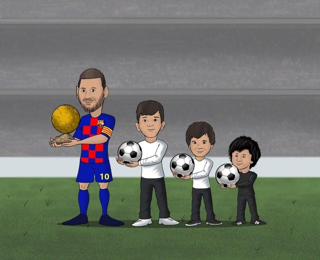 Pin De Paulo Dybala Fan Em Messi Em 2020