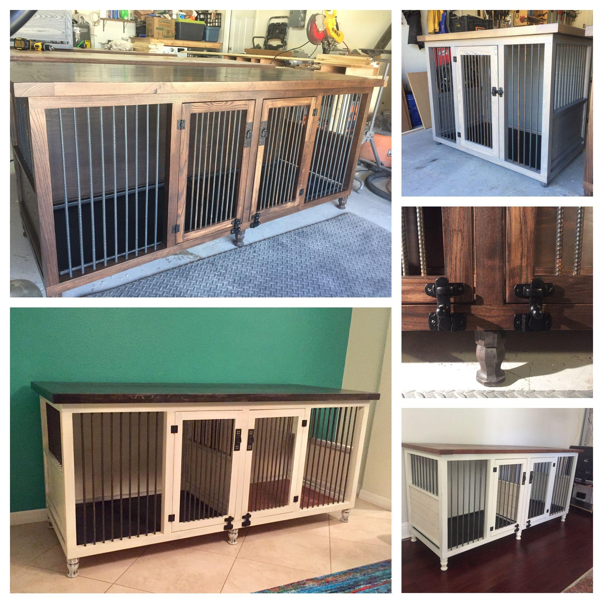 original double dog kennel dog kennels pinterest hundebett hunde und bastelideen. Black Bedroom Furniture Sets. Home Design Ideas