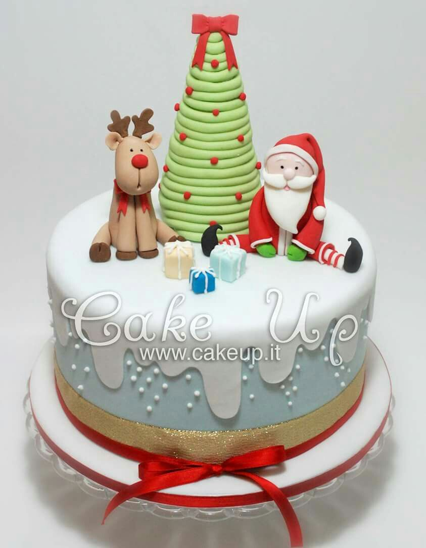 Pin By Aileen Walsh On Idee Per Cake Design Christmas Cake Designs Christmas Cake Christmas Cake Decorations