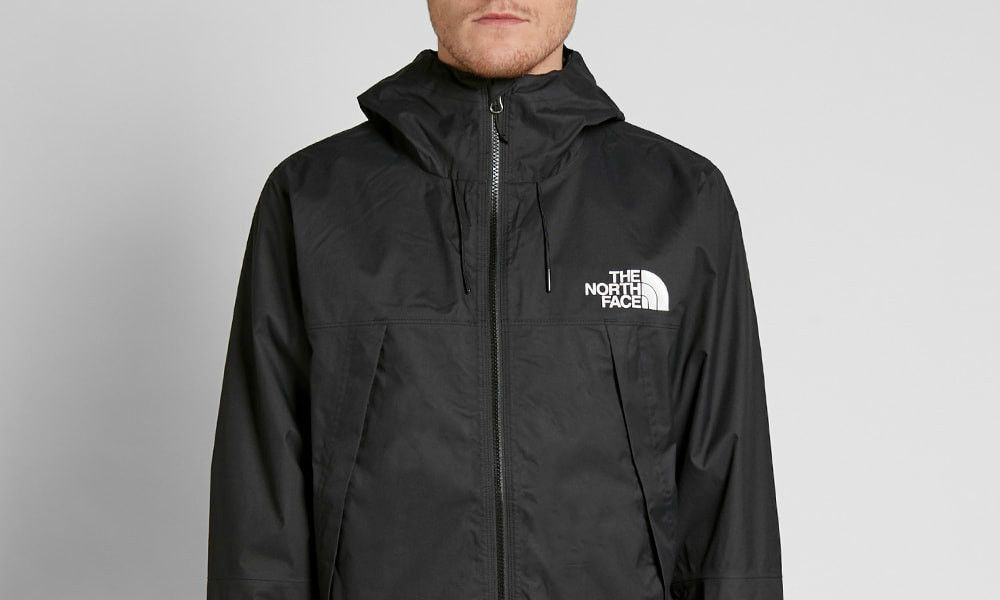2e6ee4260 The North Face 1990 Mountain Q Jacket - Black / White | Vintage ...