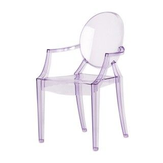 Purple Lou Lou Ghost Childrenu0027s Chair By Kartell   Nest. #loulou #ghost #