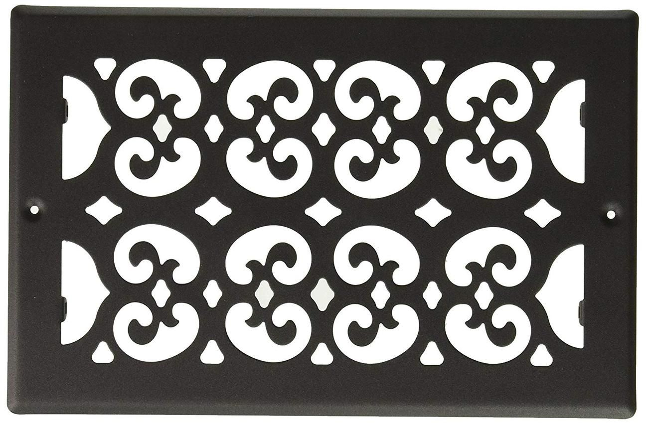 Decor Grates S610R 6-Inch by 10-Inch Painted Return Air
