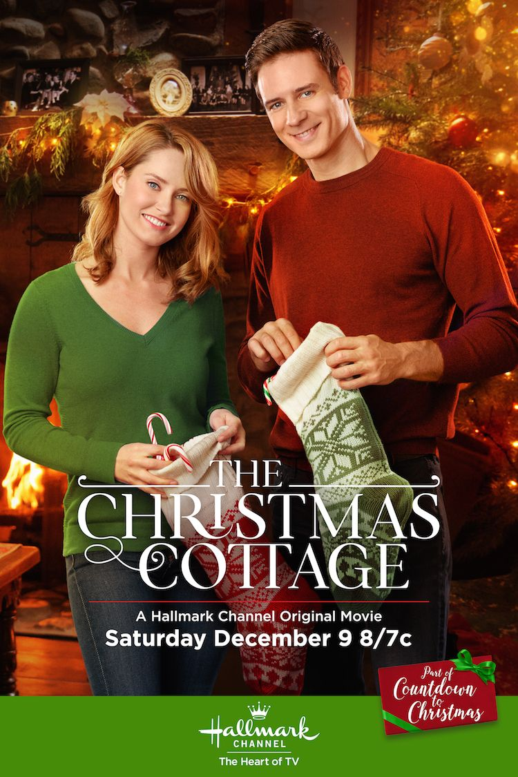 The Christmas Cottage Merritt Patterson And Steve Lund Help Decorate A Special Hone Hallmark Channel Christmas Movies Hallmark Movies Family Christmas Movies