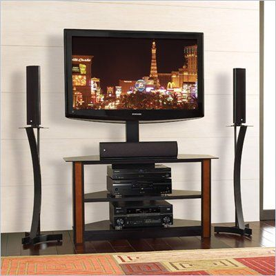 Bello Triple Play Universal Flat Panel Tv Stand With Swivel Tv