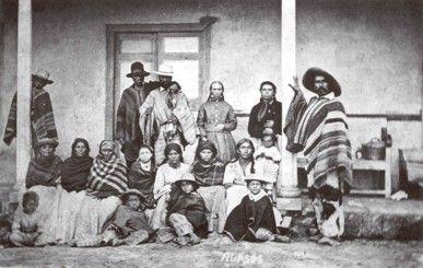Huasos esclavos de una hacienda Chile 1876  Referentes