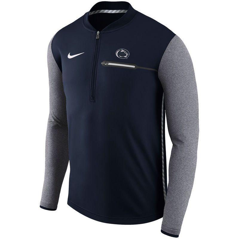 newest 14b7a 6dfa5 Penn State Nittany Lions Nike Coaches Sideline Half-Zip ...