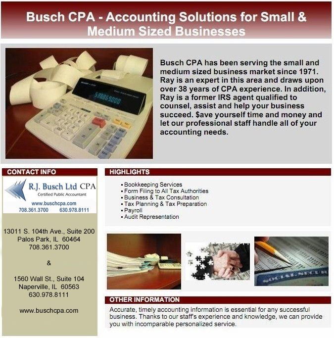 Susan S Lewis Cpa Accounting And Financial Services In Naperville