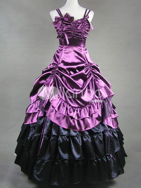 pizazz.... a very Victorian inspired prom dress!  83c19c901c41