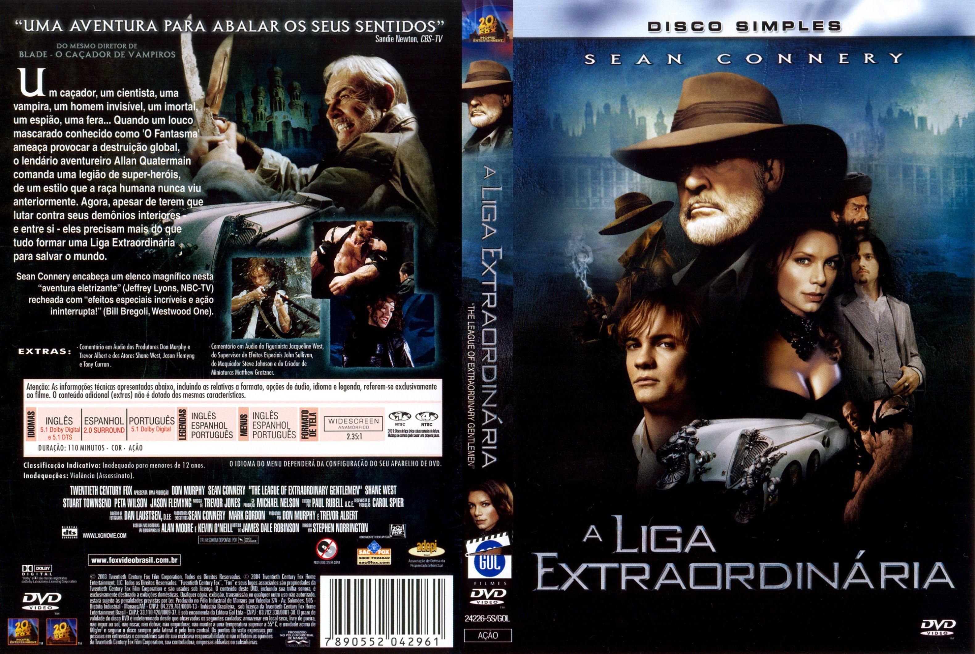 A Liga Extraordinaria Filmes A Liga Extraordinaria