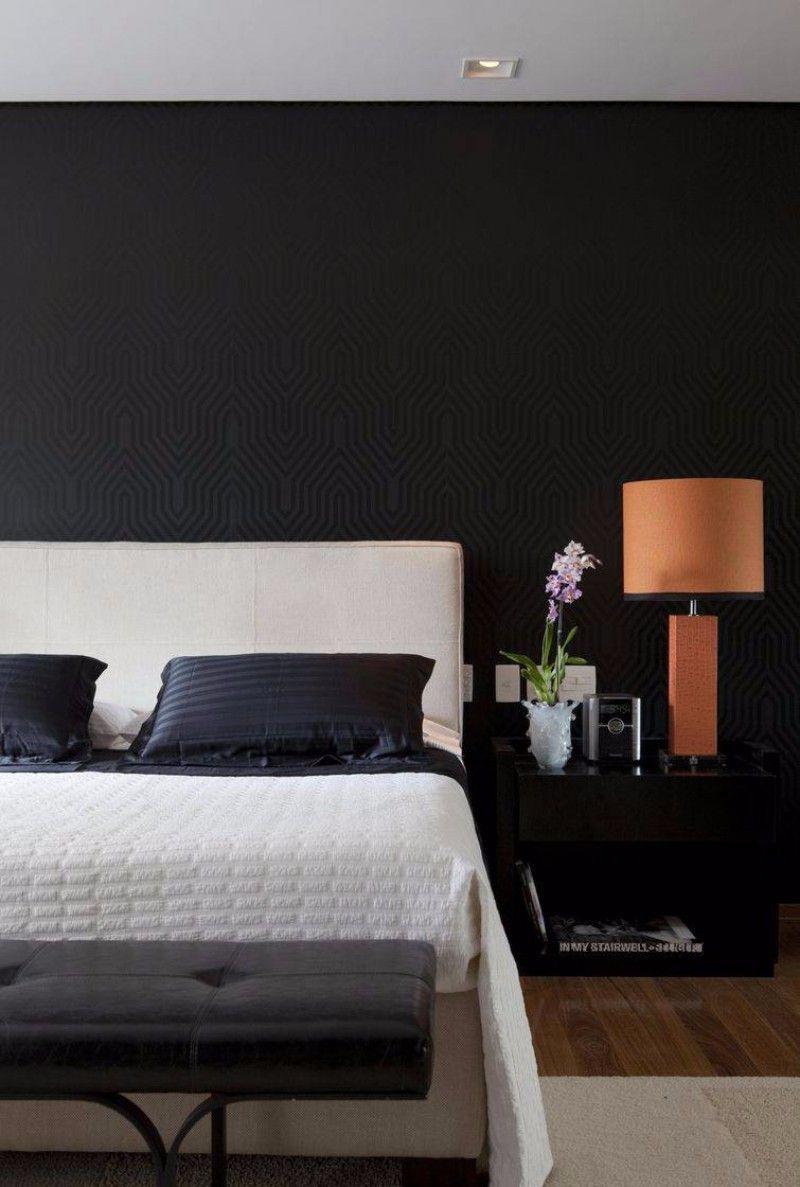 10 scharfe schwarze und weiße schlafzimmer designs
