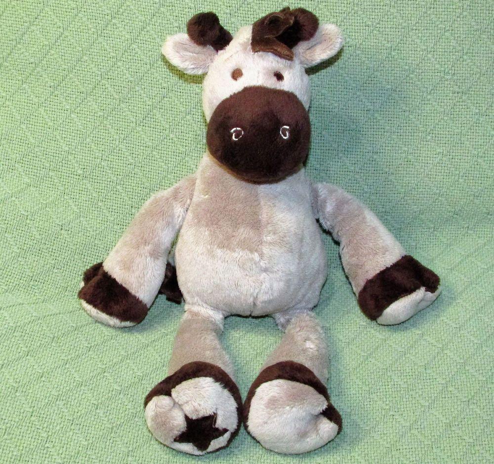 Koala Baby Giraffe Plush Stuffed Animal Lovey 16 Brown Grey Floppy