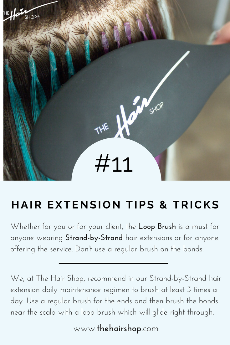 The Hair Shop Loop Brush Is Essential For Any Maintenance Regimen