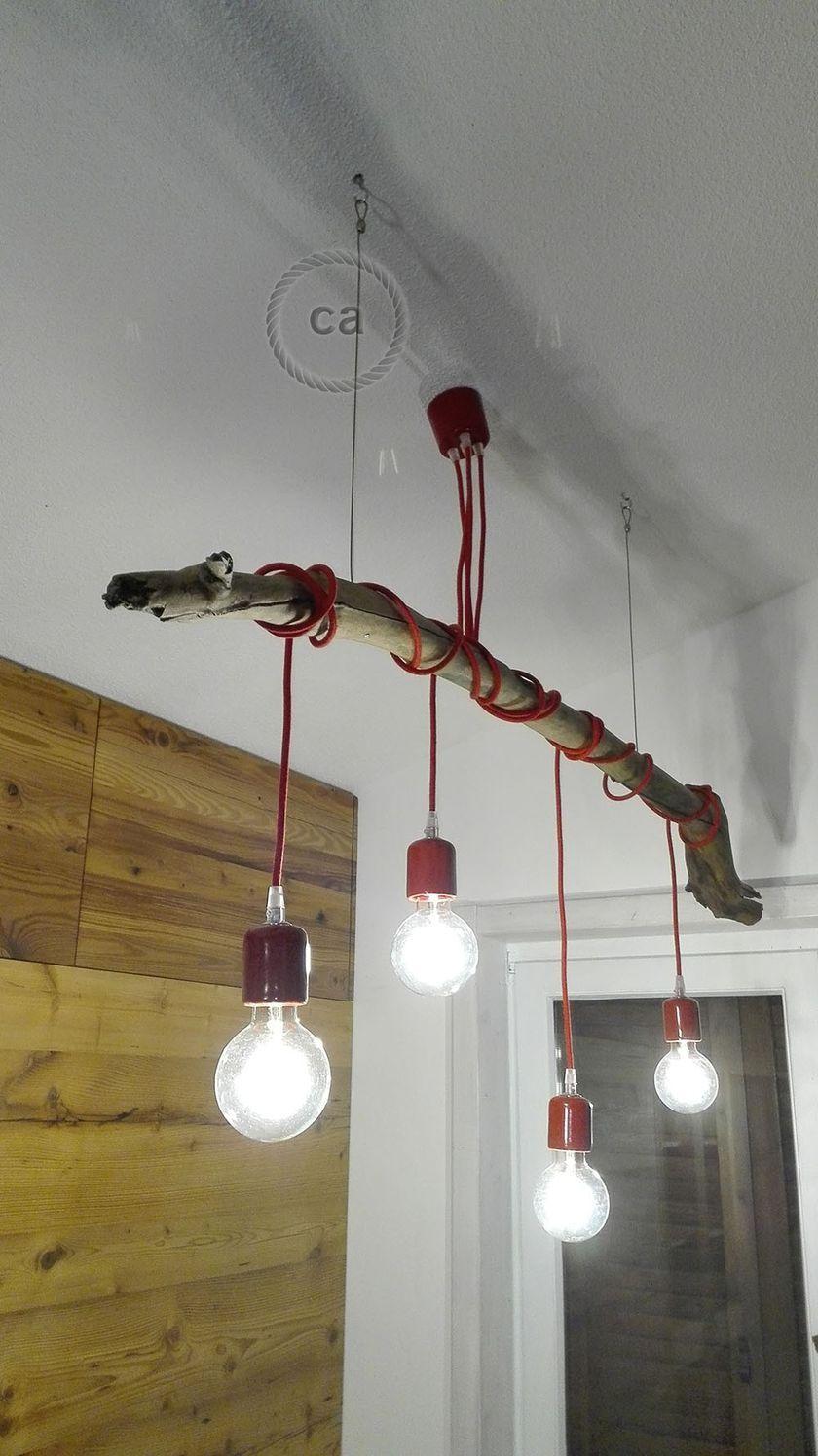 90 Fantastic Creative DIY Chandelier Lamp & Lighting Ideas