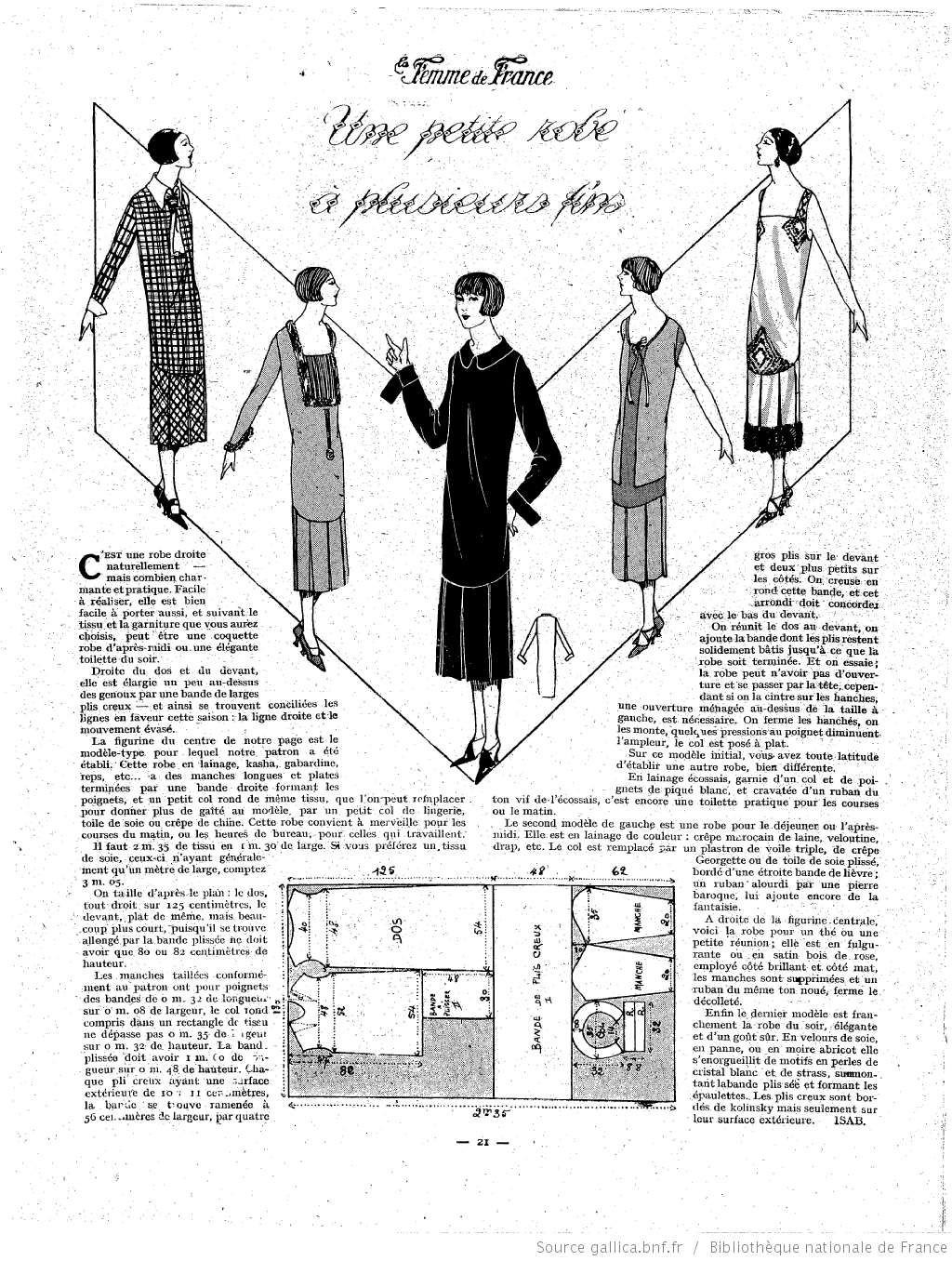 Les Modes de la femme de France | 1920\'s | Pinterest