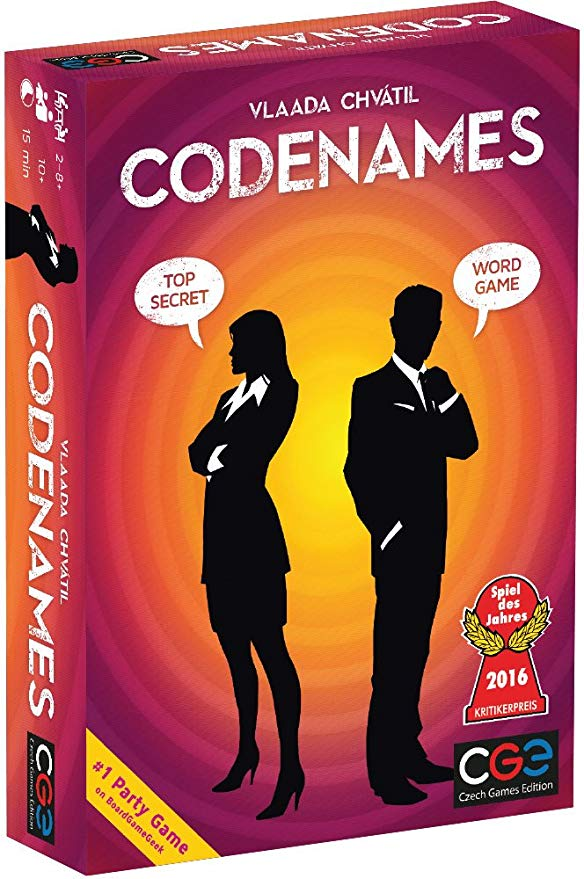 Czech Games Codenames Toys & Games Board