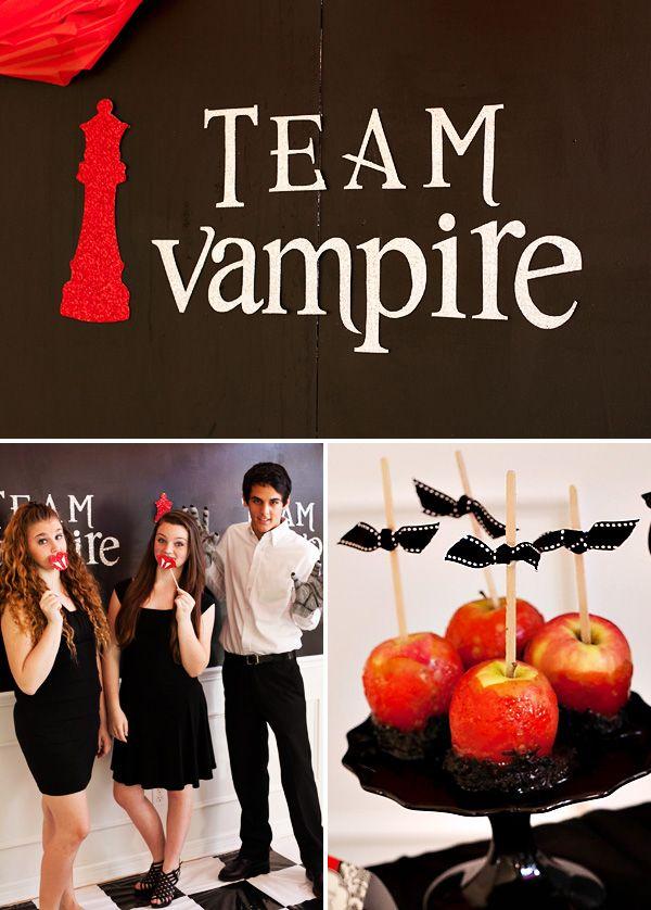 Teen Twilight Halloween Party (Vampires VS Werewolves Werewolves - halloween party ideas for teenagers