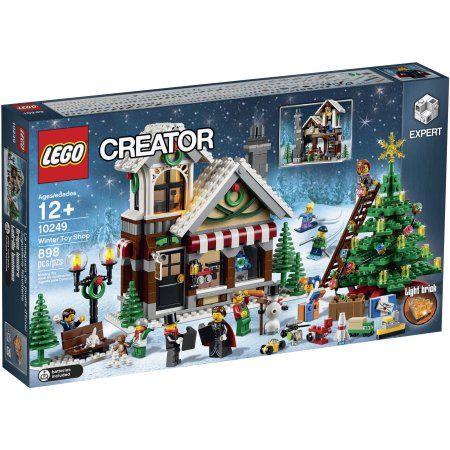 Lego Creator Expert Winter Toy Shop 10249 Walmart Com In 2020 Lego Winter Winter Toy Lego Winter Village
