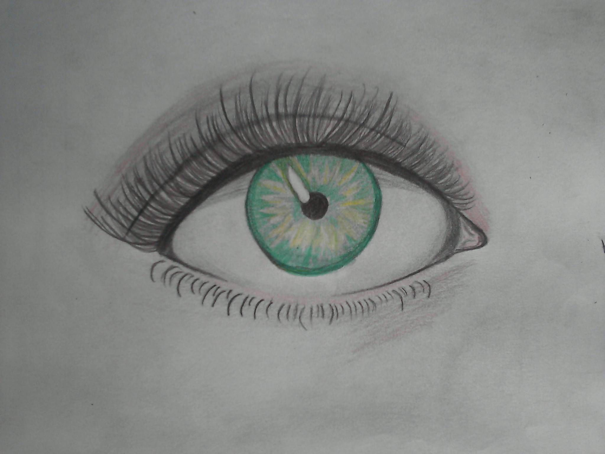 #eye #verde #ojo