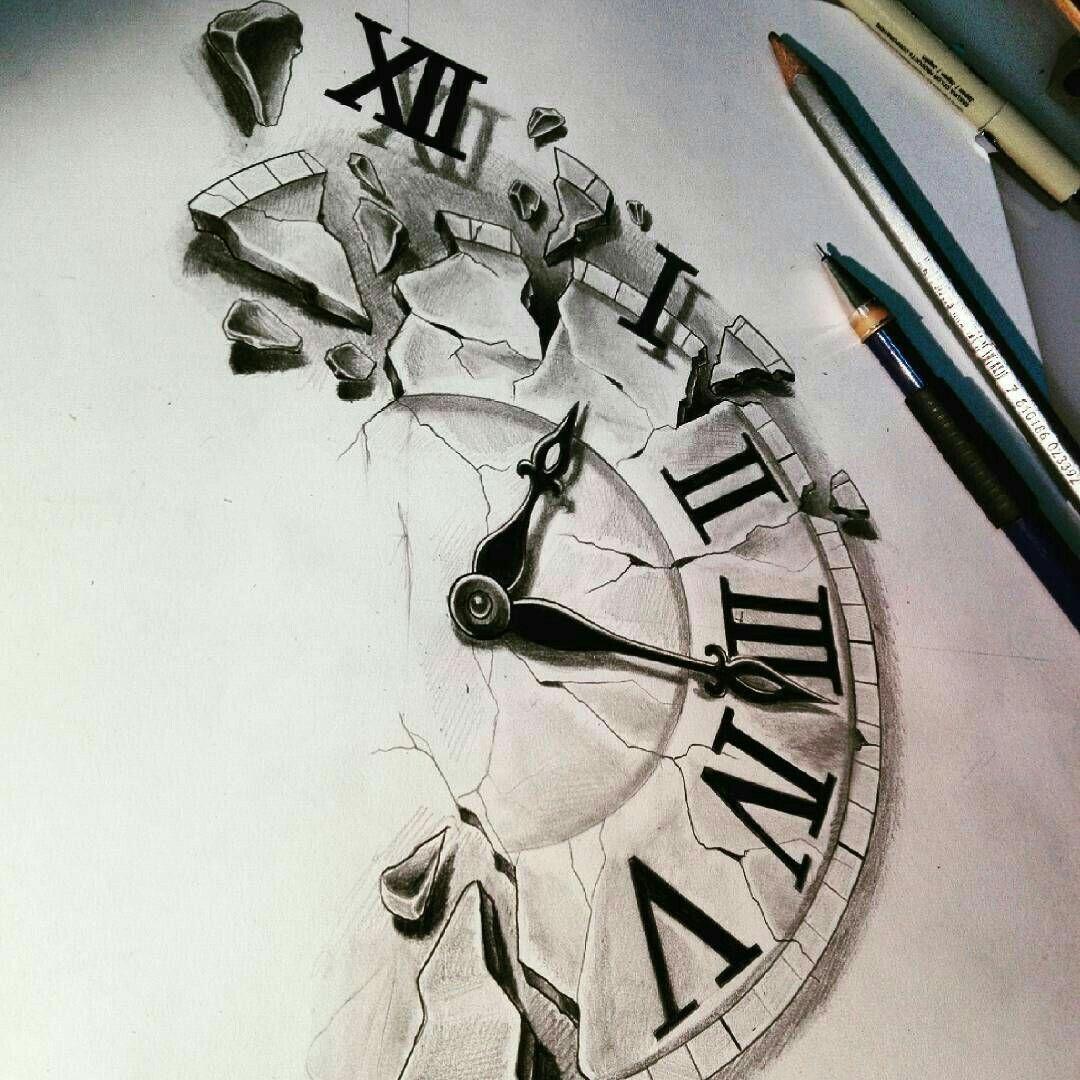 Tatouage Horloge Horloge Tattoos Tattoo Sketches Et Tattoo Designs