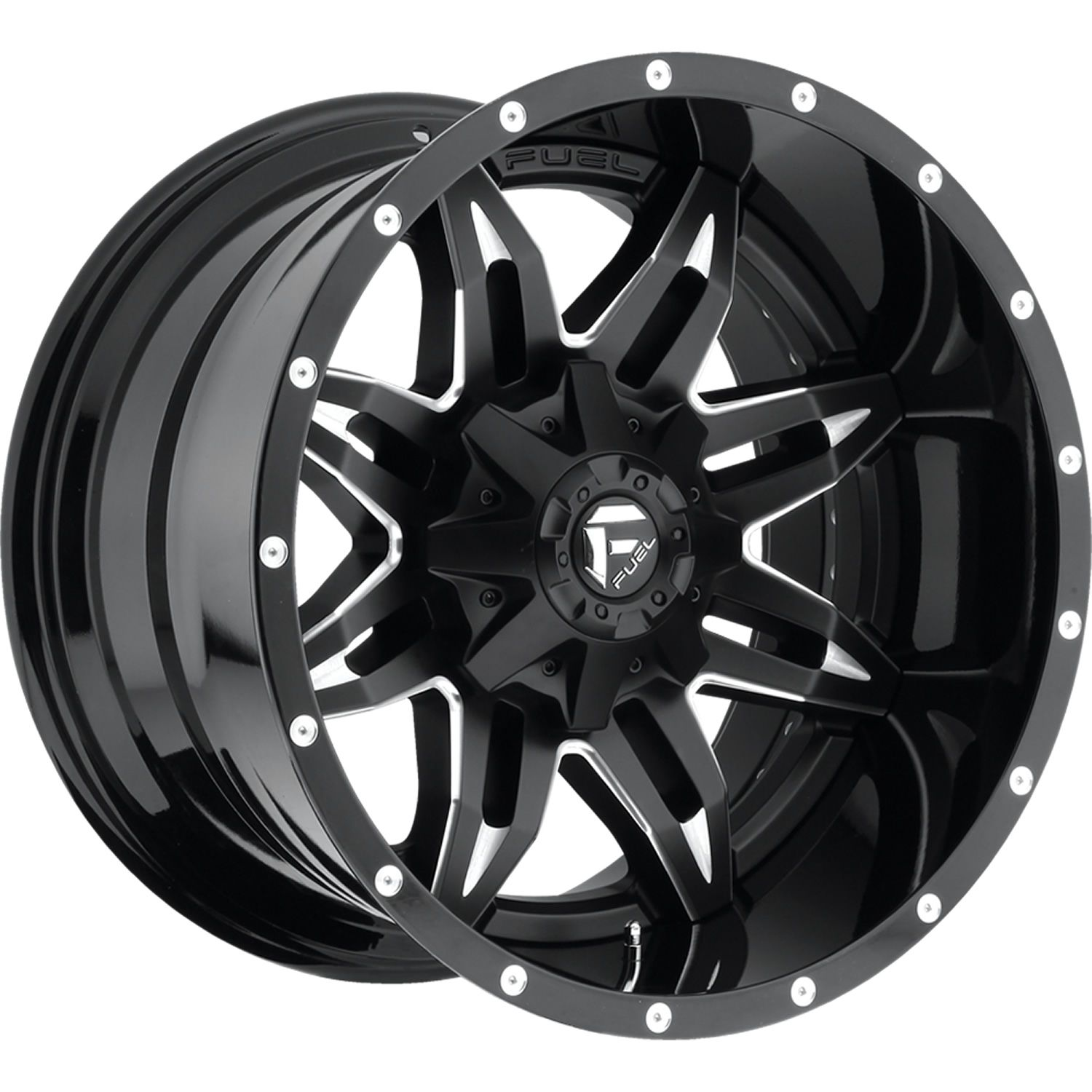 18x9 Black Fuel Lethal D567 8x6 5 1 Wheels Federal Couragia MT 35X12