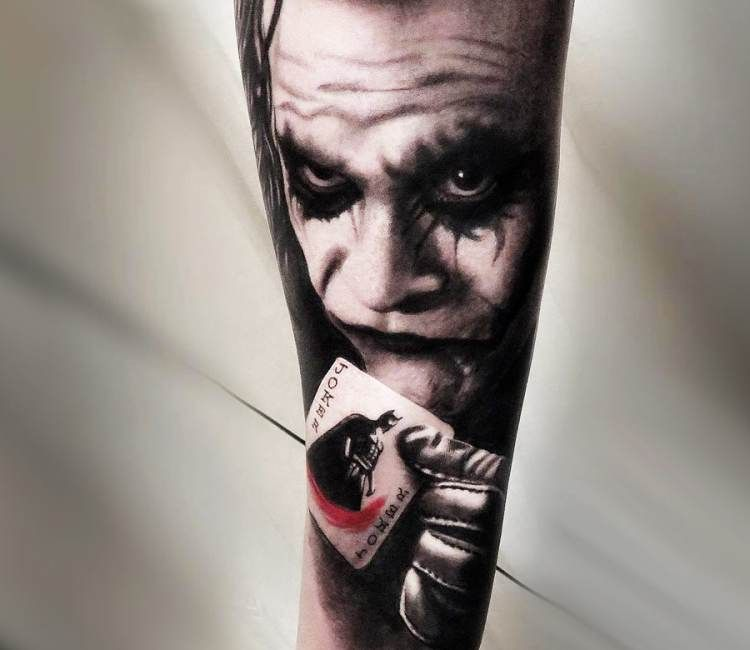 Joker Tatto Hand: Pin On Best Tattoos