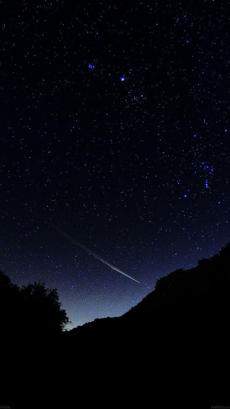 astronomy space dark sky night beautiful falling star wallpaper hd