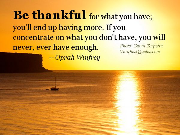 Inspirational Quotes Daily Pleasing Inspirational Quotes On Being Thankful  Inspirational Picture