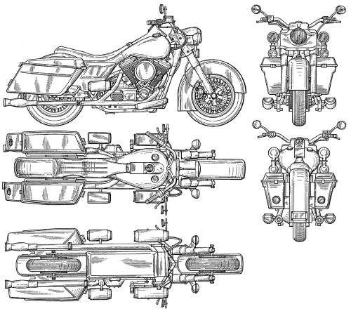 Harley-Davidson 02 imagen para descargar Art Info Pinterest - best of golf blueprint art