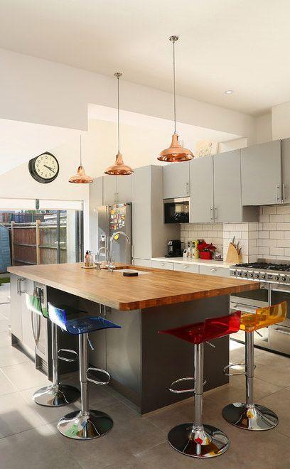 60 Beautiful Kitchen Island Ideas Around The World Rustic