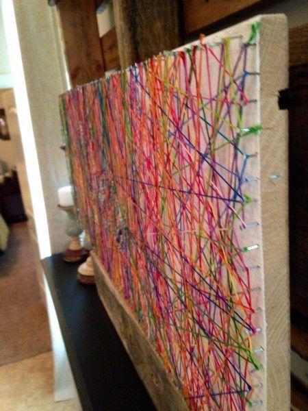 wfmw diy inspiring string art kunstprojekte kunstunterricht und kunstprojekt f r kinder. Black Bedroom Furniture Sets. Home Design Ideas