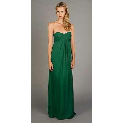 Dark Green Bridesmaids Dress Robes Laides Longues De Mariage Vertes