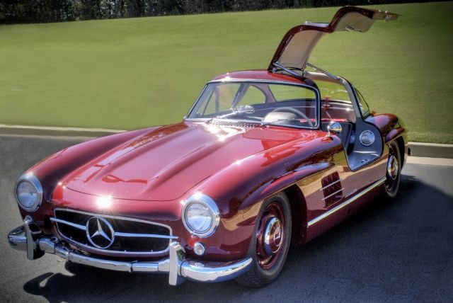 Clic Mercedes Old Sports Cars