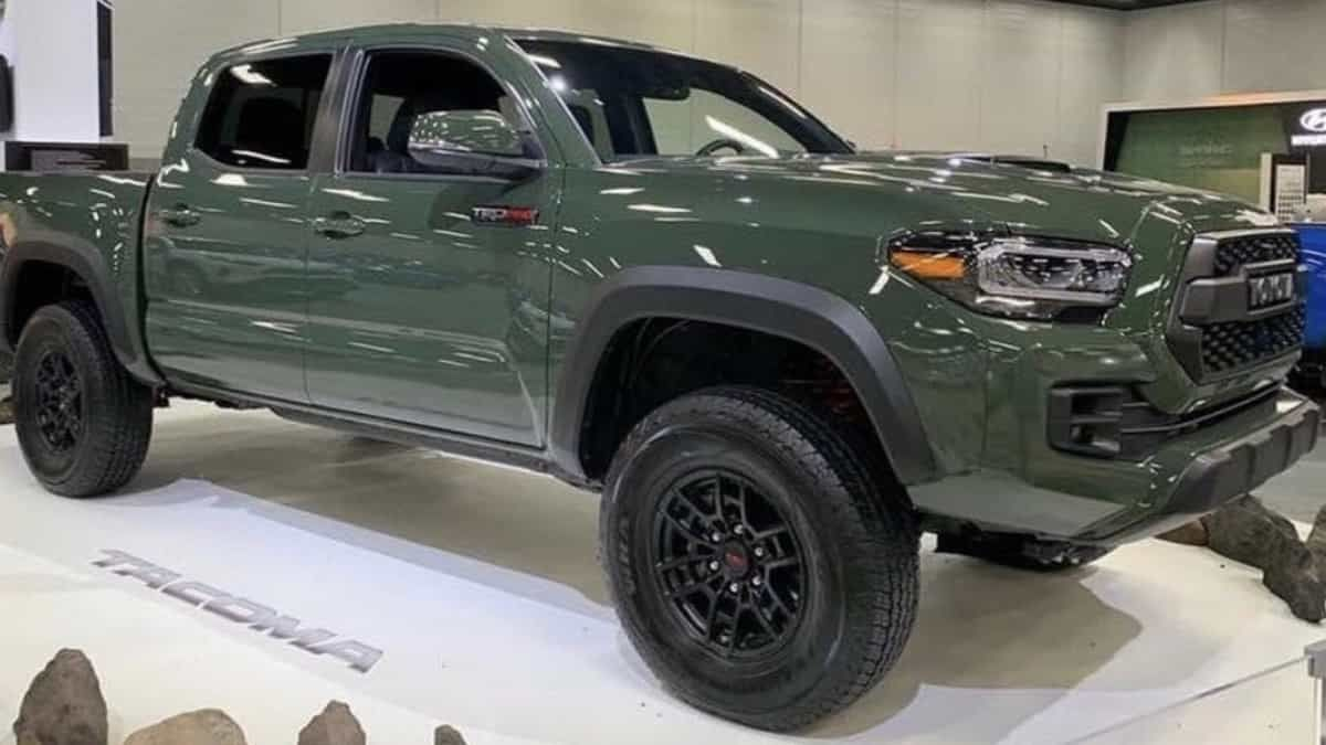 2020 Toyota Tacoma Launch Date