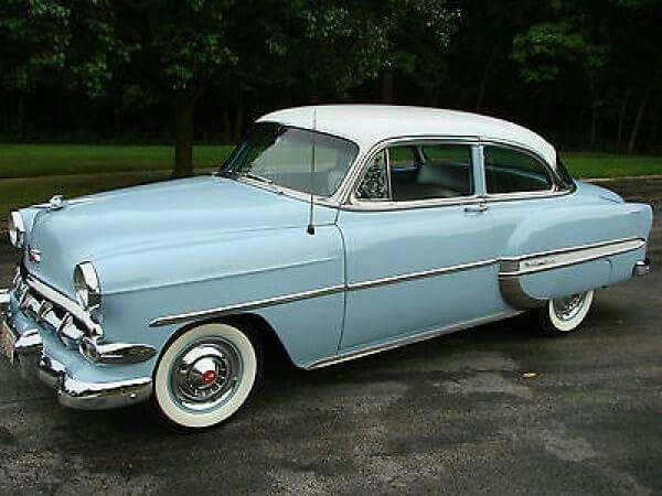 1954 Chevy Belair 210 Antique Cars Pinterest Autos Antiguos