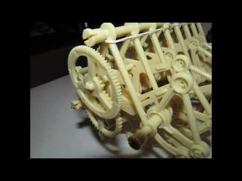 Strandbeest Model Kit with instructions - YouTube