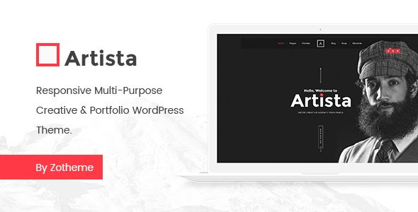 Artista - Responsive Multi-Purpose Creative & Portfolio WordPress ...