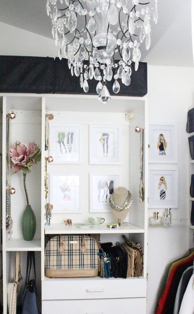 A full boutique closet reveal- master closet- closets- organizing ...