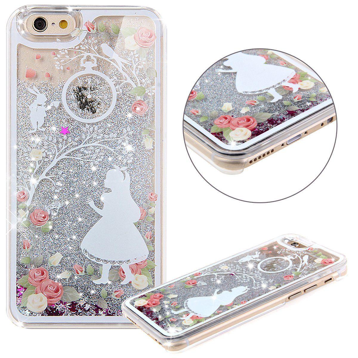 online retailer a5cda 81e8e Amazon.com: iPhone 5C Case,iPhone 5C Liquid Case,UZZO 3D Creative ...